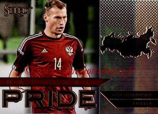 2015 - Panini Select Soccer - N° NP34 - Vasili BEREZUTSKIY (Russie) (National Pride)