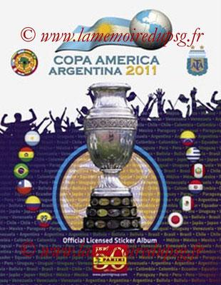 Panini Copa América Argentina 2011 - Couverture