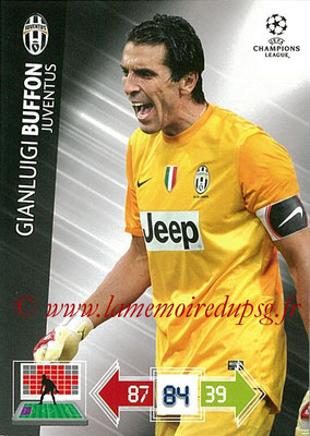 2012-13 - Adrenalyn XL champions League N° 109 - Gianluigi BUFFON (Juventus FC)