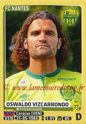 2015-16 - Panini Ligue 1 Stickers - N° 299 - Oswaldo VIZCARRONDO (FC Nantes)