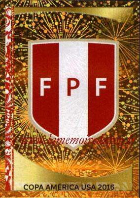 Panini Copa America Centenario USA 2016 Stickers - N° 182 - Logo Perou