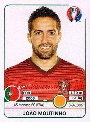 Panini Euro 2016 Stickers - N° 589 - Joao MOUTINHO (Portugal)