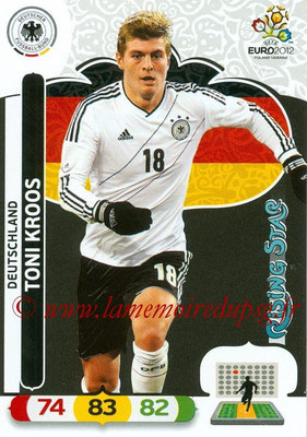 Panini Euro 2012 Cards Adrenalyn XL - N° 032 - Toni KROOS (Allemagne) (Rising Star)