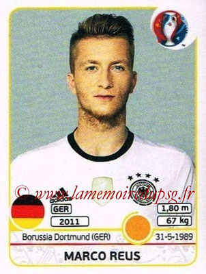 Panini Euro 2016 Stickers - N° 256 - Marco REUS (Allemagne)