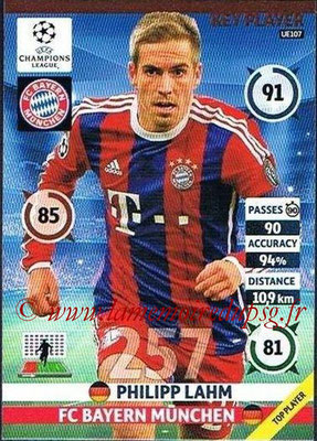 2014-15 - Adrenalyn XL champions League Update edition N° UE107 - Philipp LAHM (Bayern Munich) (Key Player)