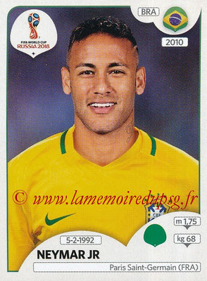 2018 - Panini FIFA World Cup Russia Stickers - N° 371 - NEYMAR Jr. (Bresil)
