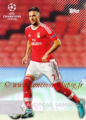 2015-16 - Topps UEFA Champions League Showcase Soccer - N° 056 -Andreas SAMARIS (SL Benfica)