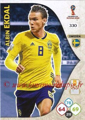 2018 - Panini FIFA World Cup Russia Adrenalyn XL - N° 330 - Albin EKDAL (Suède)