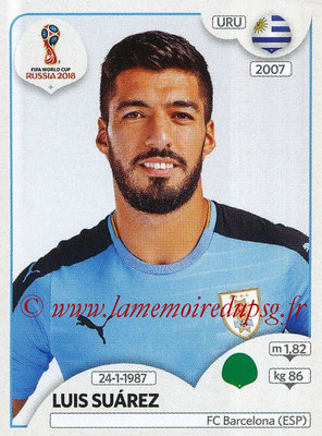 2018 - Panini FIFA World Cup Russia Stickers - N° 109 - Luis SUAREZ (Uruguay)