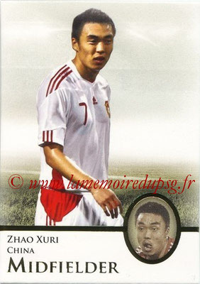 2013 - Futera World Football Unique - N° 063 - Zhao XURI (Chine) (Midfielder)
