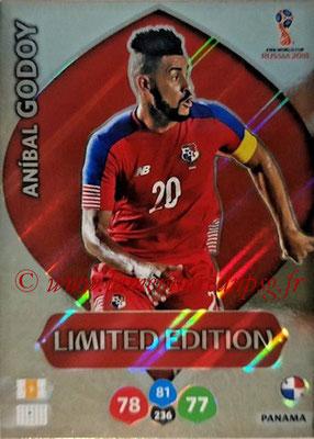 2018 - Panini FIFA World Cup Russia Adrenalyn XL - N° LE-AGO - Anibal GODOY (Panama) (Limited Edition)