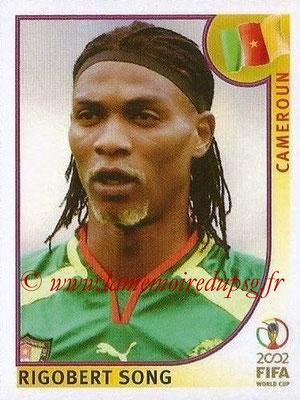 2002 - Panini FIFA World Cup Stickers - N° 371 - Rigobert SONG (Cameroun)