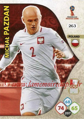 2018 - Panini FIFA World Cup Russia Adrenalyn XL - N° 263 - Machal PAZDAN (Pologne)