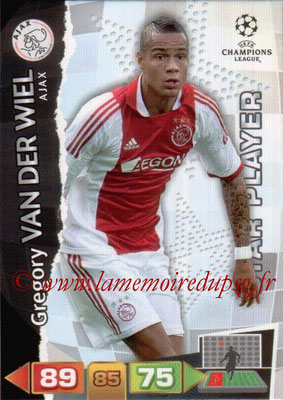 2011-12 - Panini Champions League Cards - N° 002 - Grégory VAN DER WIEL (AFC Ajax) (Star Player)