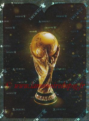 2018 - Panini FIFA World Cup Russia Stickers - N° 002 - Logo Trophée FIFA