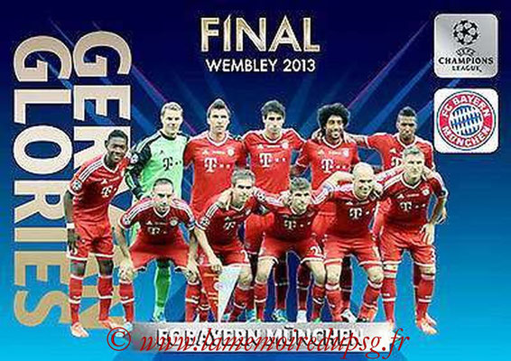 2013-14 - Adrenalyn XL champions League N° GG1 - FC Bayern Munich (Final Wembley 2013) (German Glories)