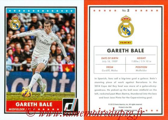 2015 - Panini Donruss Soccer - N° 002 - Gareth BALE (Real Madrid CF)
