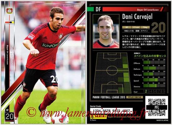 Panini Football League 2013 - PFL02 - N° 108 - Dani Carvajal ( Bayer 04 Leverkusen )