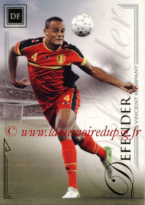 2014 - Futera World Football Unique - N° 020 - Vincent KOMPANY (Defender)