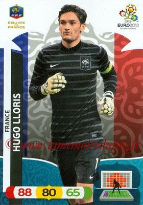 Panini Euro 2012 Cards Adrenalyn XL - N° 076 - Hugo LLORIS (France)