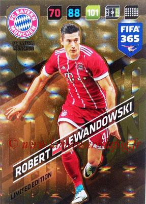 2017-18 - Panini FIFA 365 Cards - N° LE-RL - Robert LEWANDOSWKI (FC Bayern Munich) (Limited Edition)