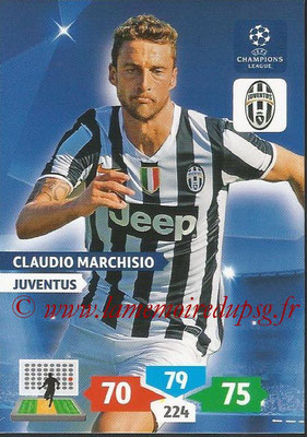 2013-14 - Adrenalyn XL champions League N° 149 - Claudio MARCHISIO (Juventus FC)