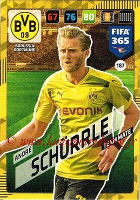 2017-18 - Panini FIFA 365 Cards - N° 187 - André SCHÜRRLE (Borussia Dortmund)