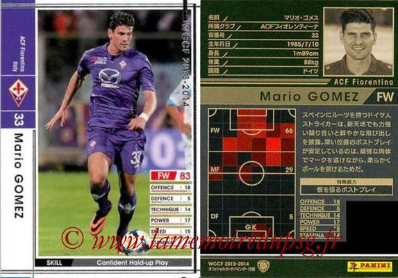 2013-14 - WCCF - N° EXT - Mario GOMEZ (ACF Fiorentina) (Extra)