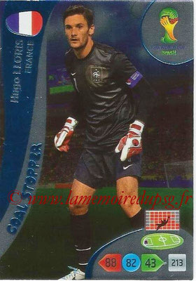 2014 - Panini FIFA World Cup Brazil Adrenalyn XL - N° 358 - Hugo LLORIS (France) (Goal Stopper)
