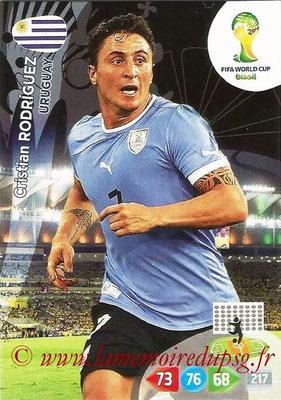 N° 311 - Cristian RODRIGUEZ (2005-Aout 2007, PSG > 2014, Uruguay)