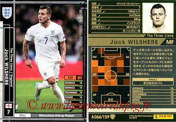 2015-16 - Panini WCCF - N° A066 - Jack WILSHERE (Angleterre)