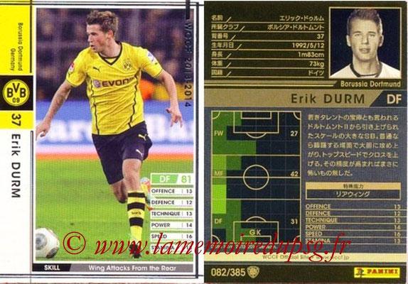2013-14 - WCCF - N° 082 - Erik DURM (Borussia Dortmund)