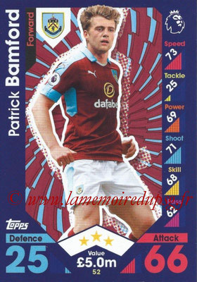 2016-17 - Topps Match Attax Premier League - N° 052