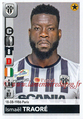 2018-19 - Panini Ligue 1 Stickers - N° 033 - Ismaël TRAORE (Angers)