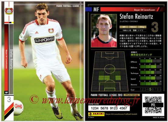 Panini Football League 2013 - PFL04 - N° 109 - Stefan REINARTZ (Bayer Leverkusen)