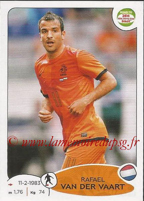 2014 - Panini Road to FIFA World Cup Brazil Stickers - N° 309 - Rafael VAN DER VAART (Pays-Bas)