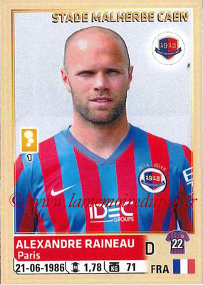 2014-15 - Panini Ligue 1 Stickers - N° 059 - Alexandre RAINEAU (SM Caen)
