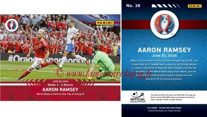 Panini Instant Euro 2016 - N° 038 - Aaron RAMSEY