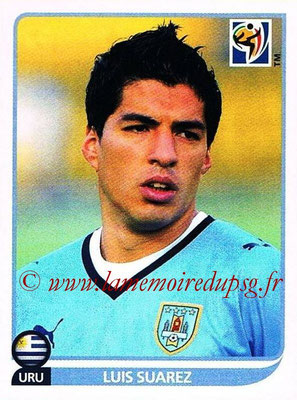 2010 - Panini FIFA World Cup South Africa Stickers - N° 084 - Luis SUAREZ (Uruguay)