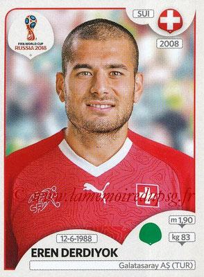 2018 - Panini FIFA World Cup Russia Stickers - N° 391 - Eren DERDIYOK (Suisse)