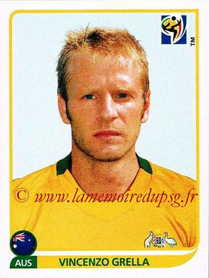2010 - Panini FIFA World Cup South Africa Stickers - N° 285 - Vincenzo GRELLA (Australie)