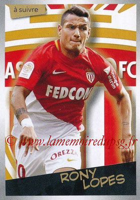 2017-18 - Panini Ligue 1 Stickers - N° 284 - Rony LOPES (Monaco) (A suivre)