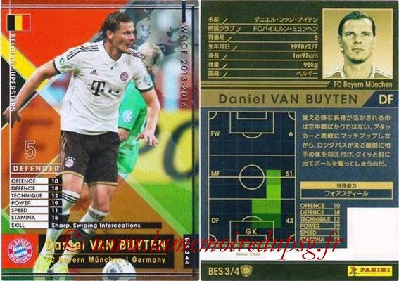 2013-14 - WCCF - N° BES3 - Daniel VAN BUYTENS (FC Bayern Munich) (Belgian Superstars)