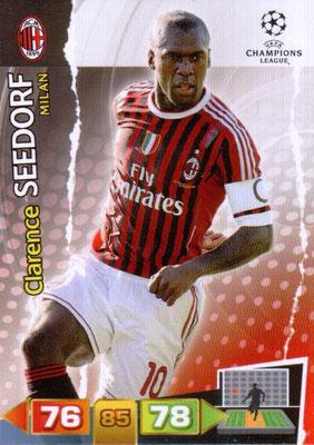 2011-12 - Panini Champions League Cards - N° 165 - Clarence SEEDORF (Milan AC)
