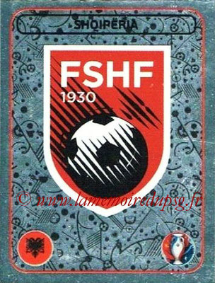 Panini Euro 2016 Stickers - N° 014 - Logo Albanie