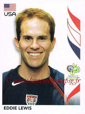 2006 - Panini FIFA World Cup Germany Stickers - N° 351 - Eddie LEWIS (États Unis)
