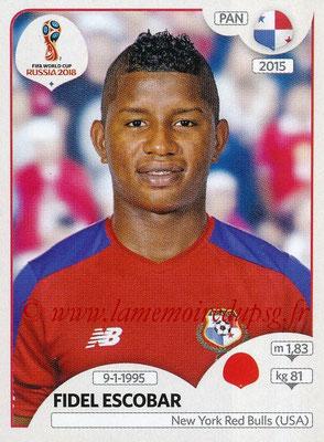 2018 - Panini FIFA World Cup Russia Stickers - N° 537 - Fidel ESCOBAR (Panama)