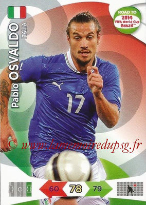 2014 - Panini Road to FIFA World Cup Brazil Adrenalyn XL - N° 129 - Pablo OSVALDO (Italie)