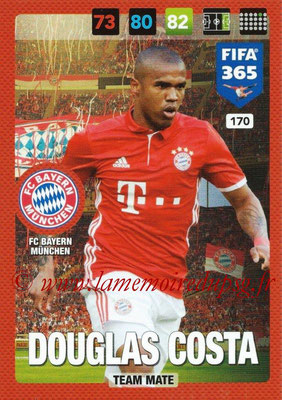2016-17 - Panini Adrenalyn XL FIFA 365 - N° 170 - DOUGLAS COSTA (FC Bayern Munich)