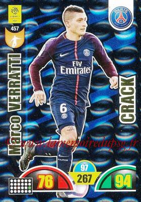 2018-19 - Panini Adrenalyn XL Ligue 1 - N° 457 - Marco VERRATTI (Paris Saint-Germain) (Crack)